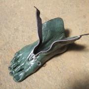 Séparé - bronze zip