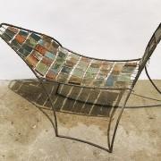 Petit Bachus - 2007 -Bois e bateaux métal fil à thon.