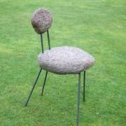 Silence,2013,  granit métal.