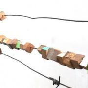 Lisière- 2020 - Métal, fragments de bateaux.