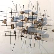 Maquette 1 Héritage #3, métal,granit.0,80/0,65M.