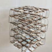 Domestication –  2020 - bois et métal – 50 x 50 x 80