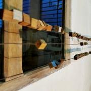 Échappatoire -2020  métal, fragments de bateau - 6 m x 30cm x 5 cm